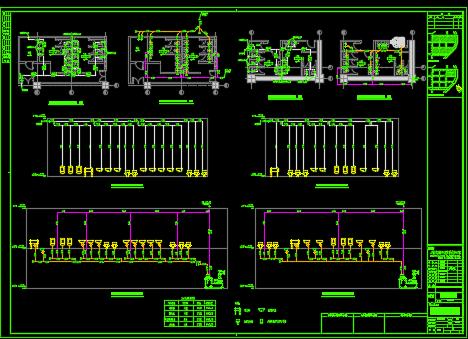 商业办公楼机电项目施工图纸(含电气、给排水、暖通)