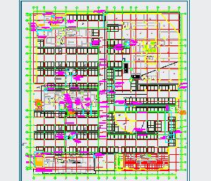 某新建高层住宅小区施工图纸(含建筑结构水电)