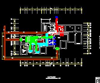 给水泵站设计_住宅给水排水工程设计图免费下载 - 高层建筑给排水图 - 土木工程网