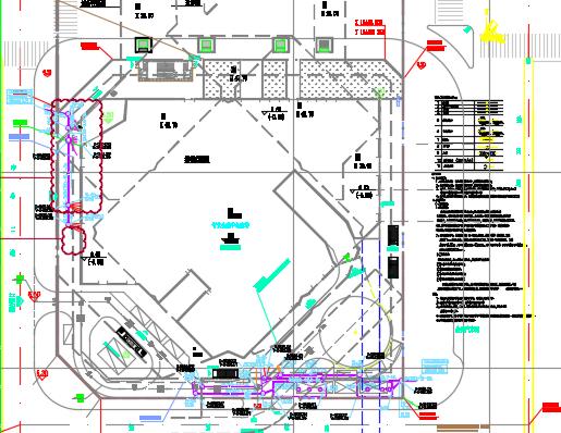 某金融中心南塔给排水全套施工图纸(含虹吸雨水原理图)
