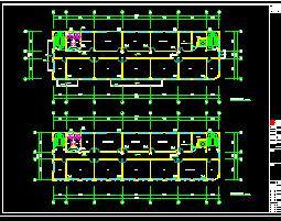4层服务中心给排水施工图纸