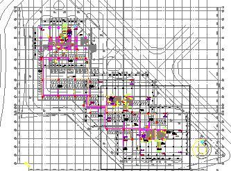 双栋超高层综合楼给排水施工图纸