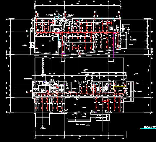 高层办公楼建筑给排水设计施工图(带计算书)