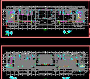 二十二层综合楼给排水全套施工图