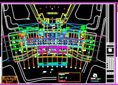 二十一层综合楼服务中心给排水施工图