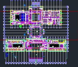 十一层办公楼行政中心给排水设计施工图