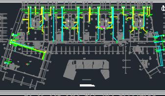 二十二层住宅楼给排水施工图