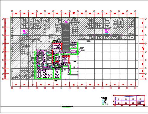 商业步行街、超高层办公楼及高层办公楼给排水施工图纸