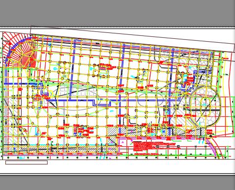 某商业广场超高层商业综合楼电气施工图纸