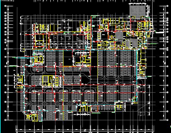 某医院门诊楼及综合楼机电(水、电、暖)施工图纸
