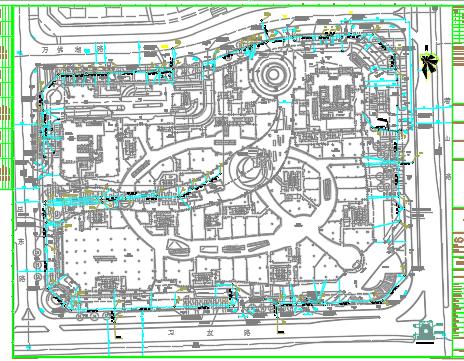 55万平米商住综合体给排水施工图纸