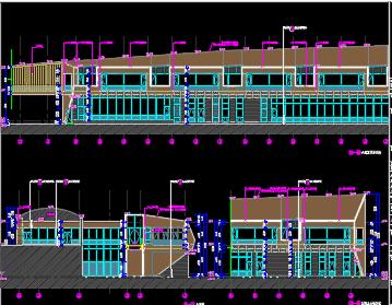 酒店全套施工图纸(含建筑结构、水电暖)