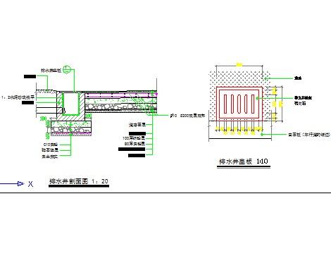 排水井设计图纸