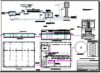 某水厂工艺流程图