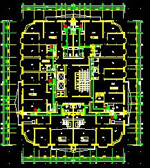 某28层住宅楼给排水设计图