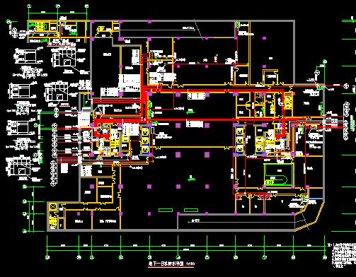 18层办公楼给排水施工图(附计算书)