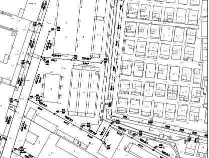 某市区市政排水管布置图(PDF格式)