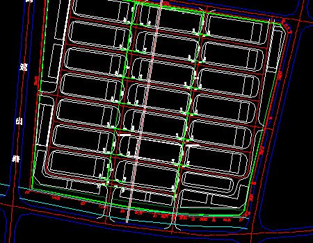 厂区道路排水工程设计套图