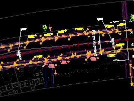 道路排水市政工程施工图纸