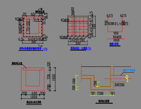 广场排水工程施工图纸