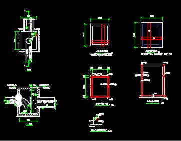 消能井设计详图