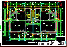 住宅小区别墅及十七层居民楼给排水施工图