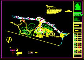 居住区景观工程给排水施工图