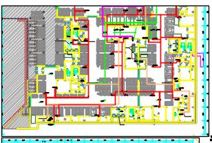 三层人防地下室给排水施工图