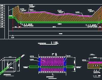 某跨河给水管道工程施工图