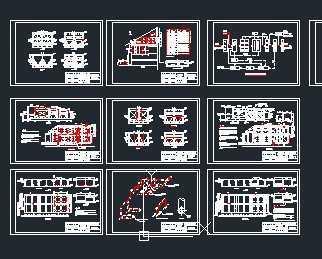 某食品厂屠宰厂废水处理系统设计图