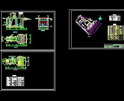 某污水处理厂污水泵站设计图