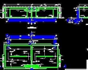 厌氧池剖面设计图图片