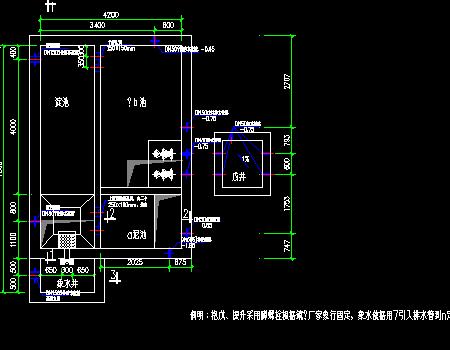 污水处理厂工艺施工图