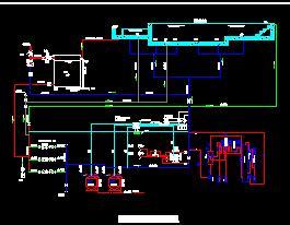 游泳池水处理工艺流程图