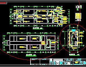 污水处理厂室外水池结构施工图纸