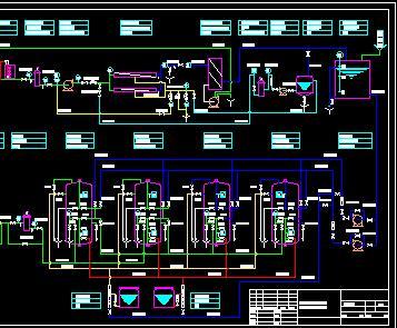 高纯水系统工艺流程设计图