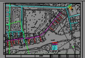 某市生活污水治理工程及MBR污水处理站水电施工图