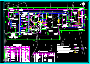 污水处理工程施工图