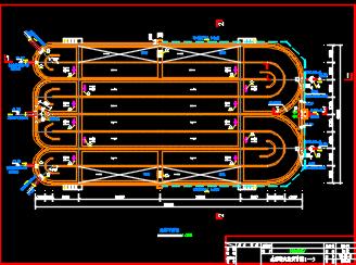 污水处理厂水处理工艺施工图