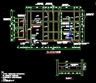 某水厂土建及安装工程结构施工图纸