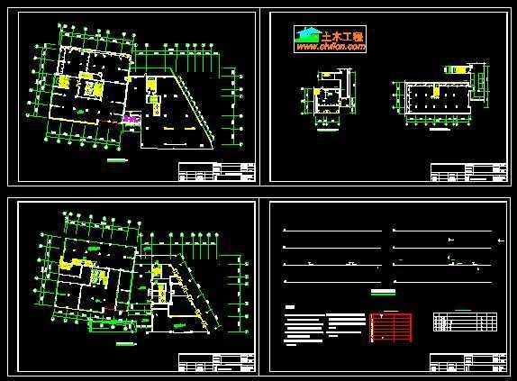 永泰大厦商场消防设计图