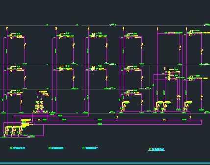 某电子厂房消防系统设计图