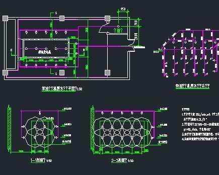 某柴油发电机房水喷雾自动灭火系统设计图图片