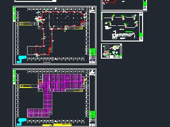 某小区地下表格消防设计图exls绘制车库斜线表头多条如何图片