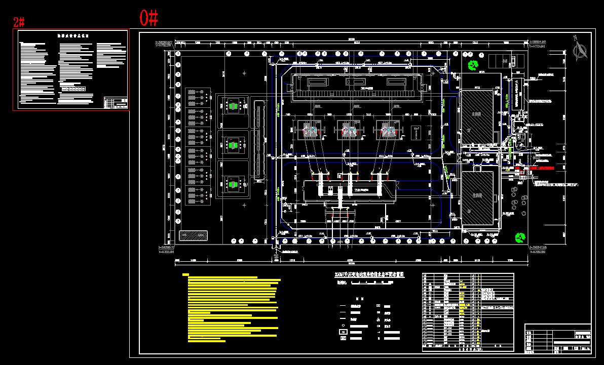 某风电场220kV升压变电站给排水施工图纸