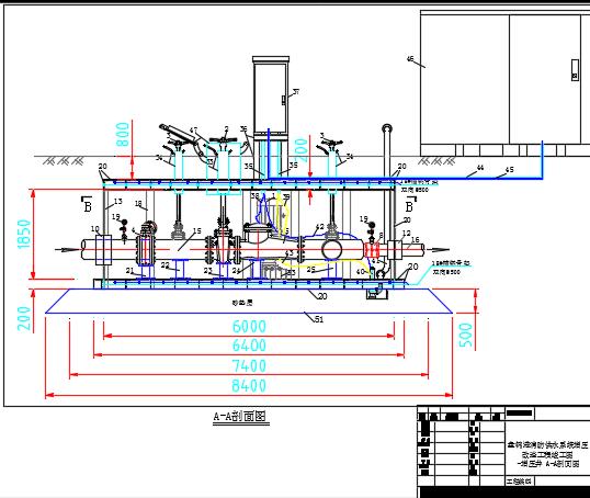 某港口消防供水系统增压改造工程图纸