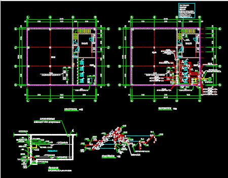消防泵房施工图纸