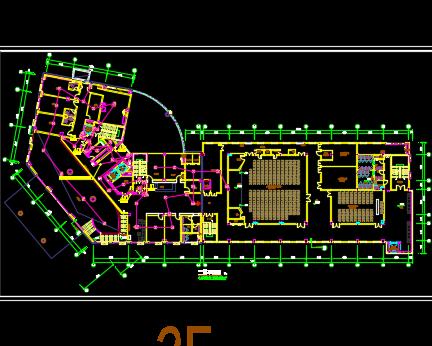 十层宾馆弱电系统图