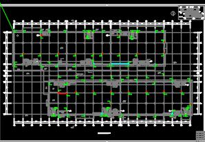 厂区办公宿舍楼地下室给排水施工图