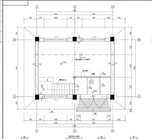 一层消防泵房设计图纸(PDF格式)